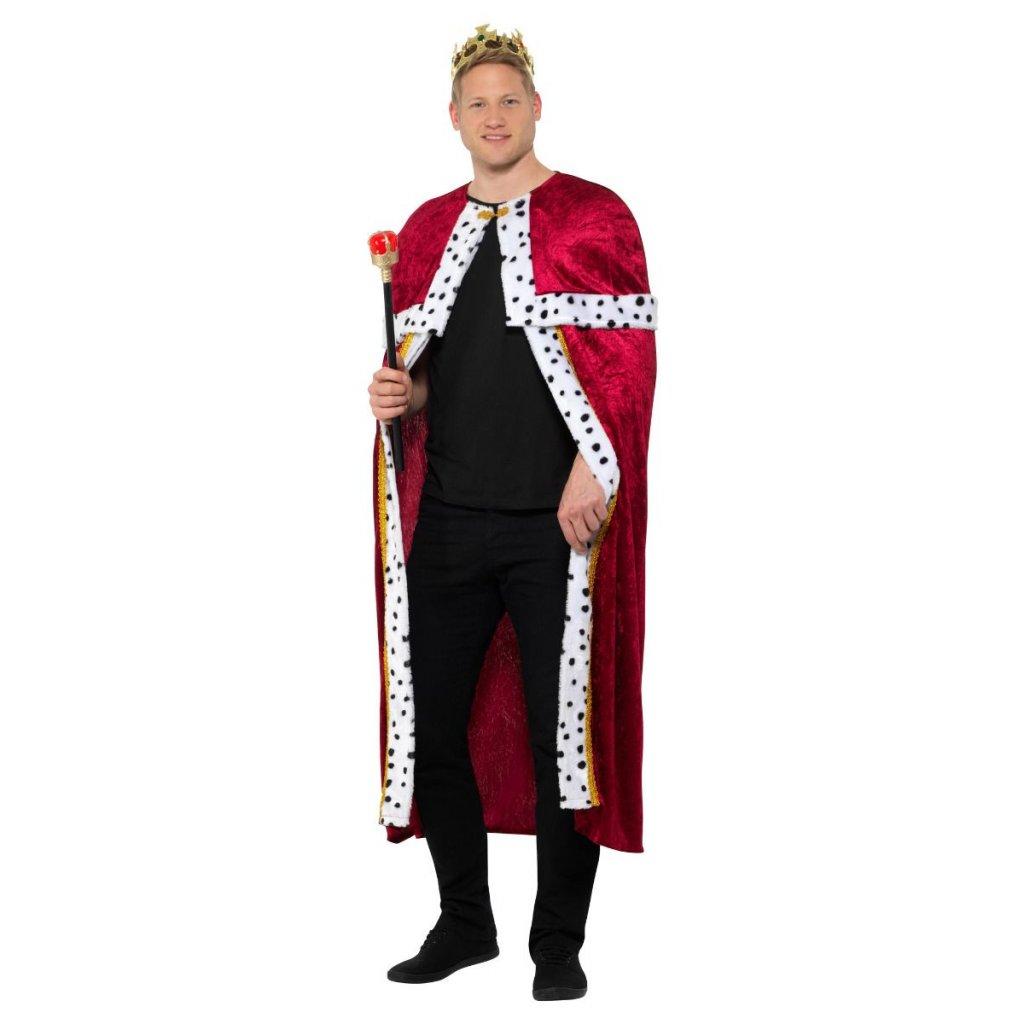 Královská sada - plášť, koruna, žezlo