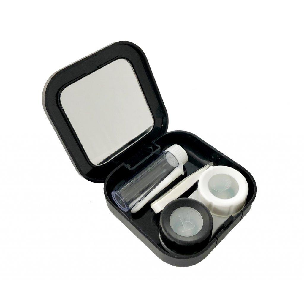 cestovní pouzdro na kontaktní čočky sada