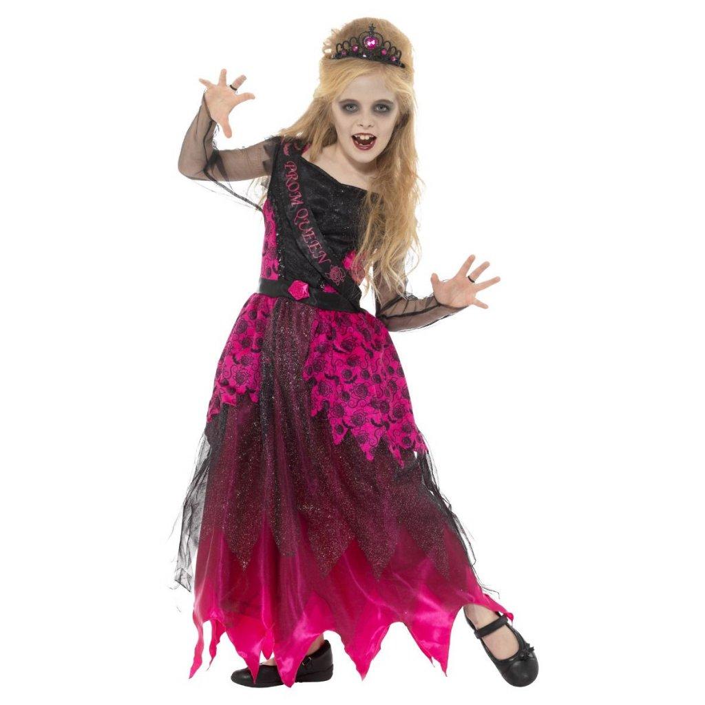 Dětské šaty královna plesu