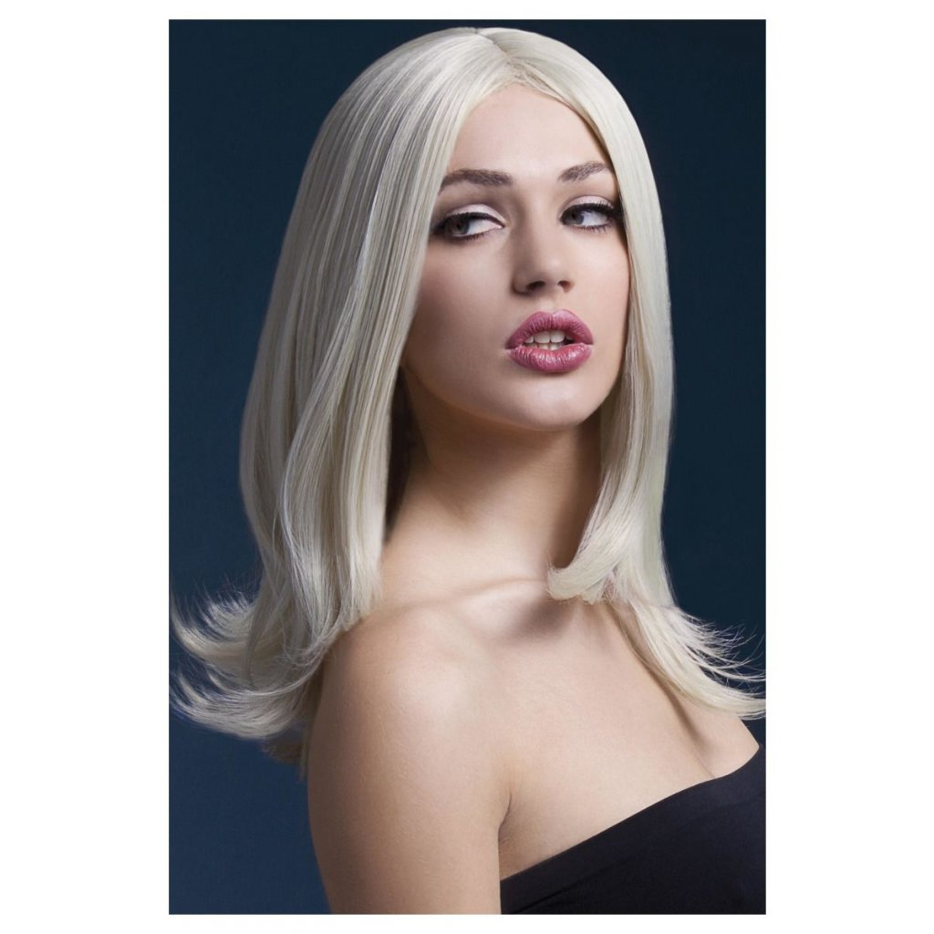 Blond profi popelavá paruka