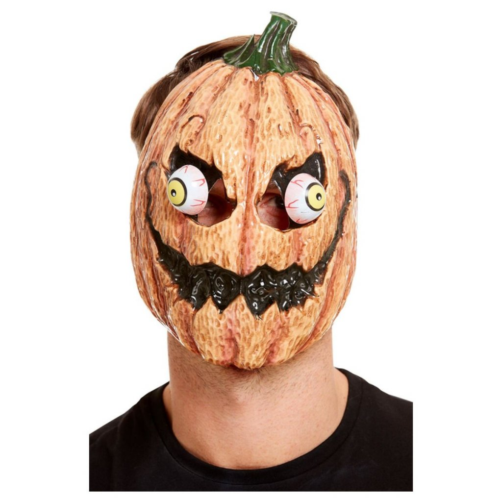 Halloween Maska dýně pohyblivé oči