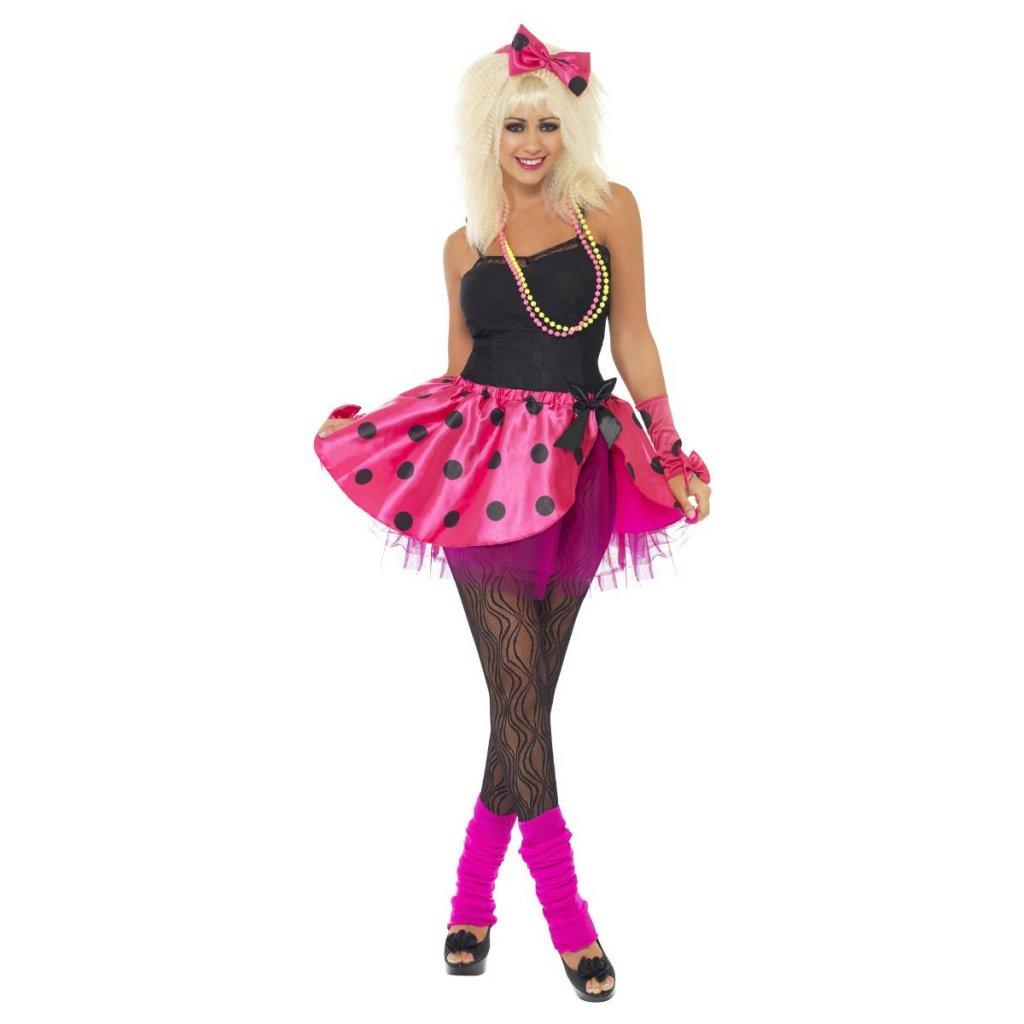 Puntíkatá tutu růžová sukně