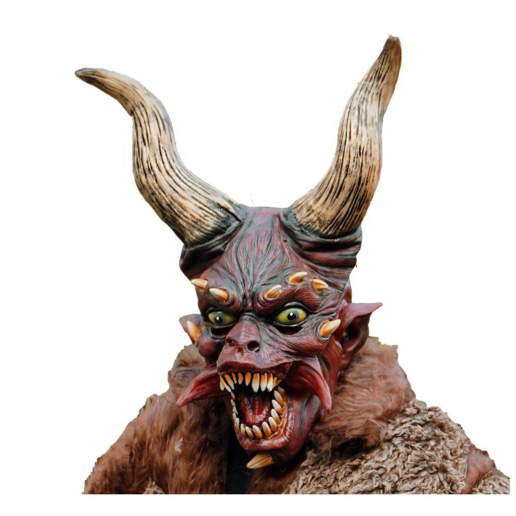Maska čerta velké rohy