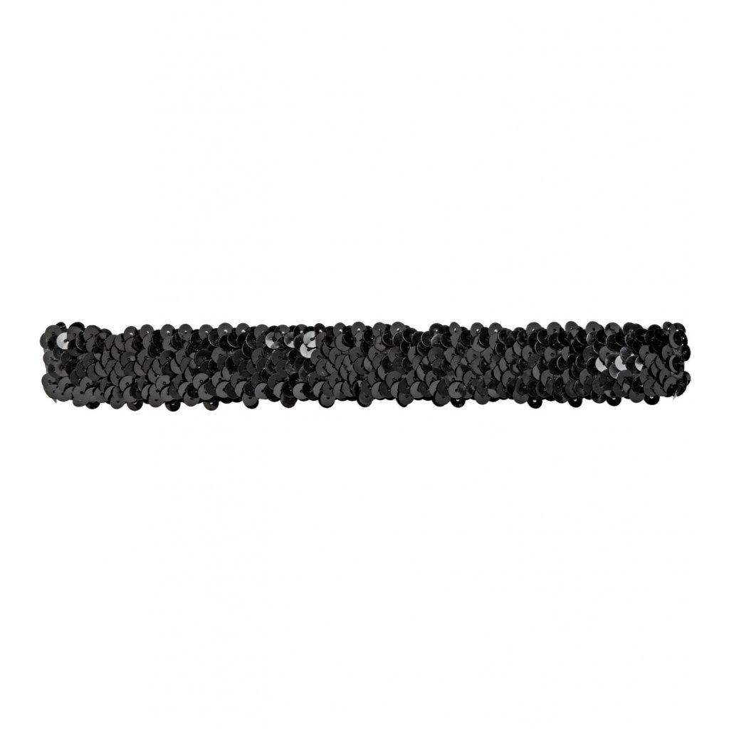 flitry černá čelenka