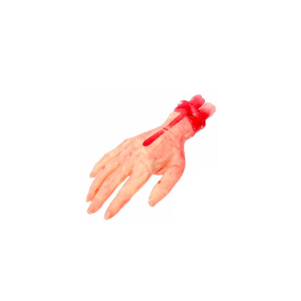 Falešná ruka na Halloween