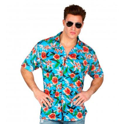 beachboy Havajská košile Modrá laguna
