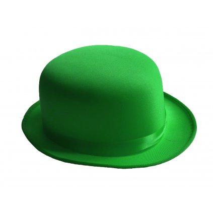 zelený klobouk buřinka