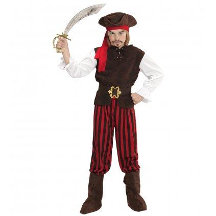 dětský pirátský kostým pro kluky