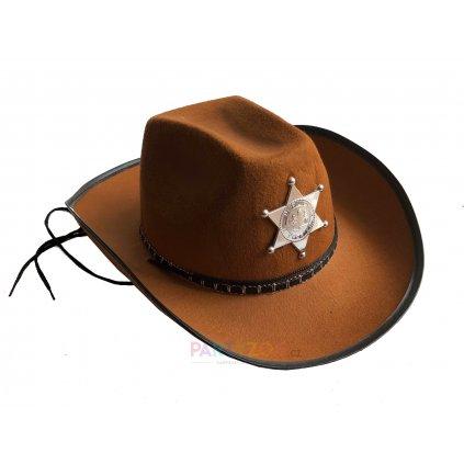 kovbojský klobouk western