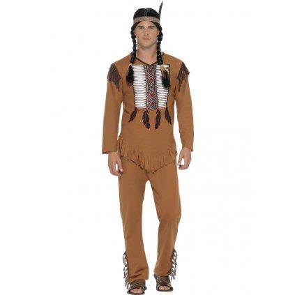 Pánský kostým Indián náčelník