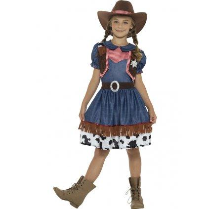 Dětský westernový kostým Kovbojka