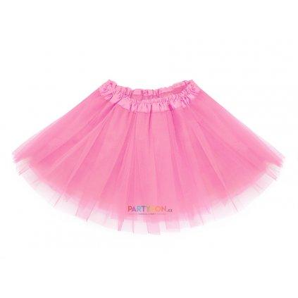 tutu sukně baletní růžová