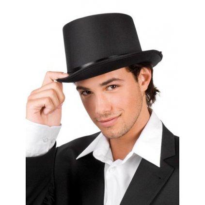 cylindr černý klobouk
