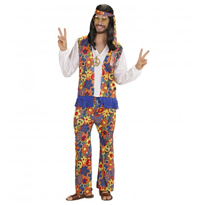 Pánský kostým hippies PARTYZON.cz