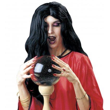 Paruka čarodějnice černá Amélie PARTYZON.CZ