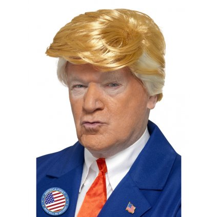 Blond paruka Donald Trump