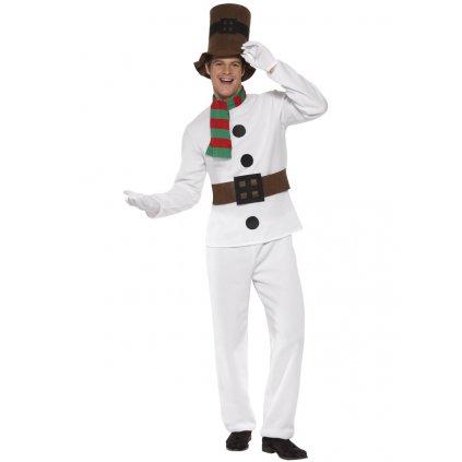 Pánský kostým sněhuláka