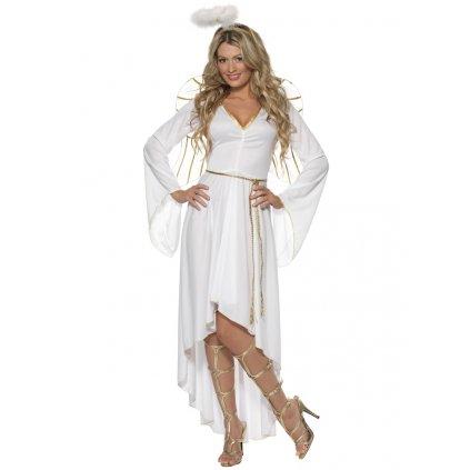 Dámský kostým anděl levně