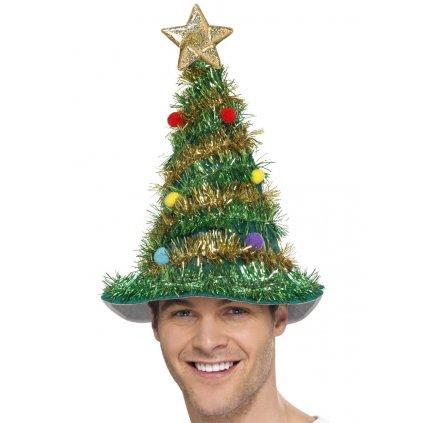 Párty čepice vánoční stromeček partyzon