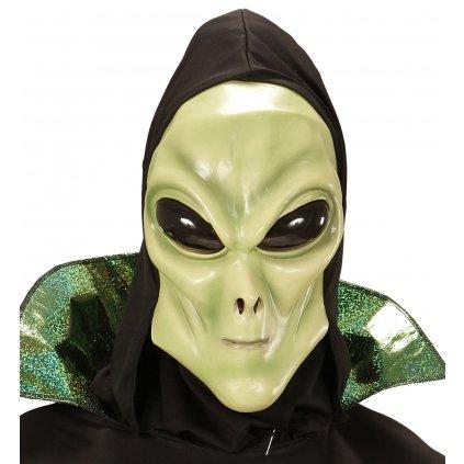 Gumová maska mimozemšťana