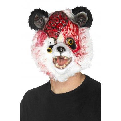 strašidelná Maska zombie Panda