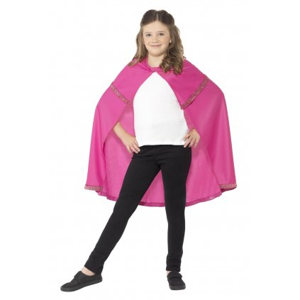 Dětský růžový plásť Princezna