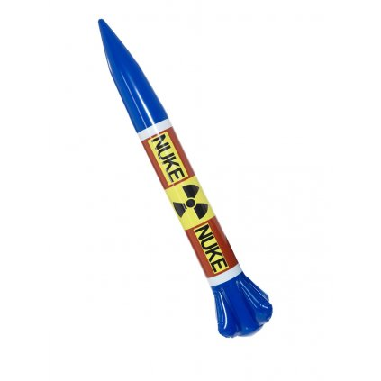 Nafukovací raketa do vody karneval kim cong un