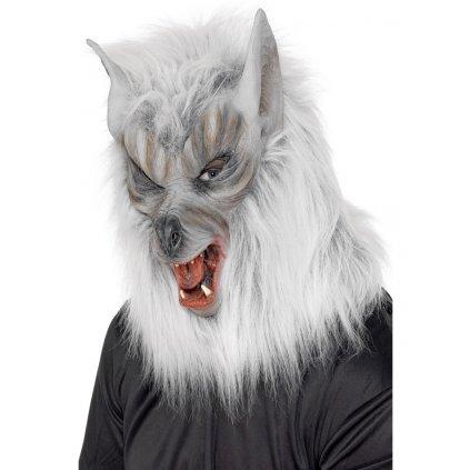 Maska vlkodlak šedý