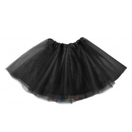 cerna tutu sukne