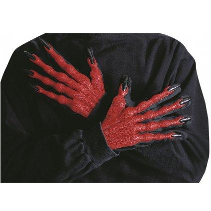 Čertovské ruce gumové