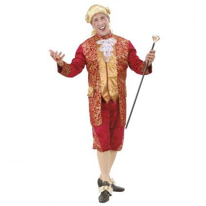 Pánský kostým červený Venetian