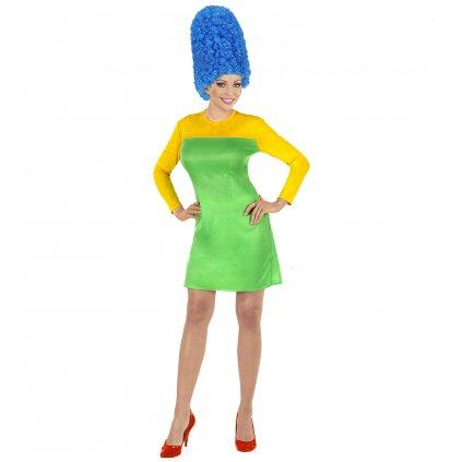 Kostým Marge Simpson