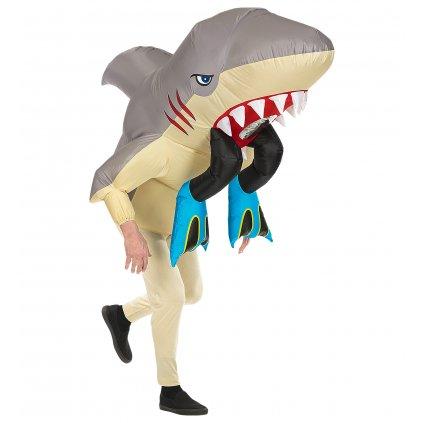 Kostým žralok s člověkem párty