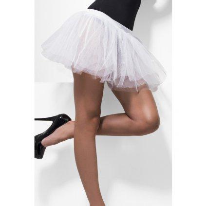 Dámská tutu sukně bílá krátká