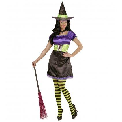 dámský kostým čarodějnice krátký