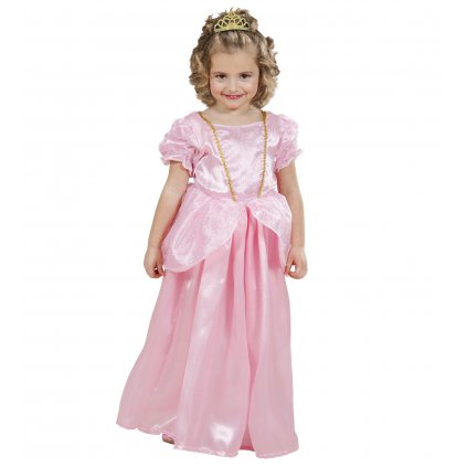 dětský kostým růžová přincezna