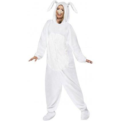 Kostým králíček bílý
