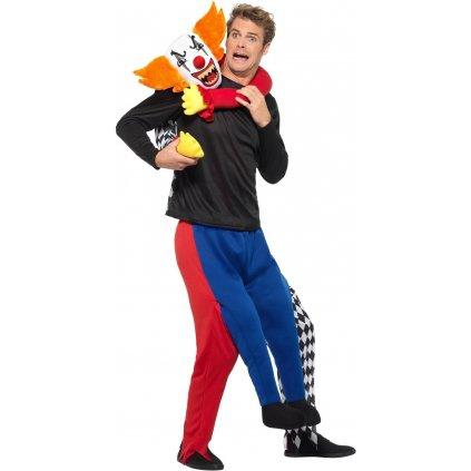 kostým klaun únosce