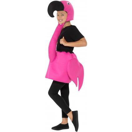 plameňák dětský kostým
