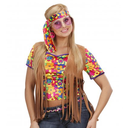 dámská hippies vesta