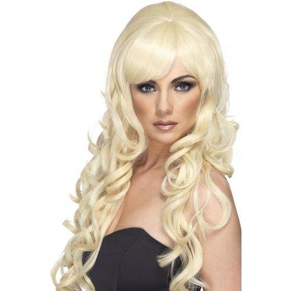 blond paruka popová hvězda