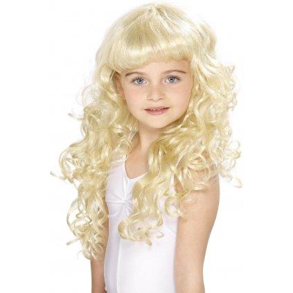 dětská paruka princezna