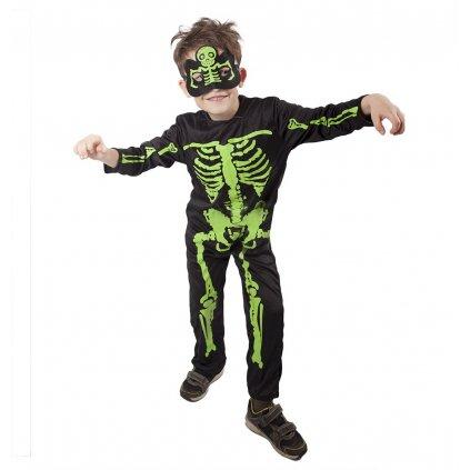 dětský kostým pro kostlivce