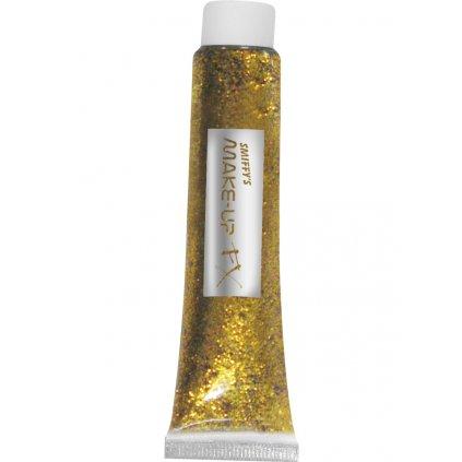Zlatý glitr v tubě (20ml)