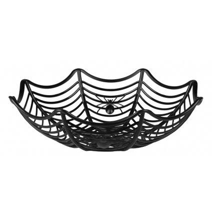 Košík na sladkosti pavučina