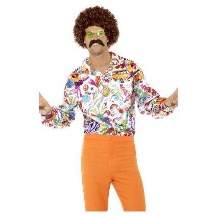 Barevná košile Hippie