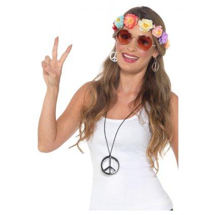 Dámský hippie set doplňků