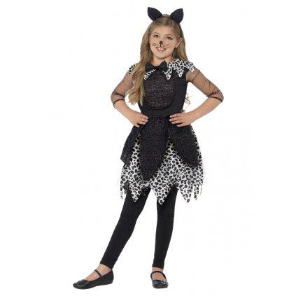 Dětský kostým půlnoční kočka