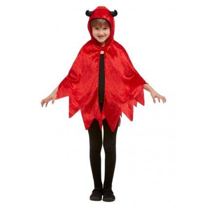 Dětský plášť pro čerta