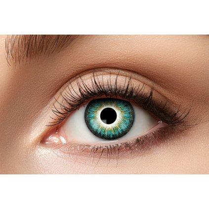 Nedioptrické kontaktní čočky Aqua roční